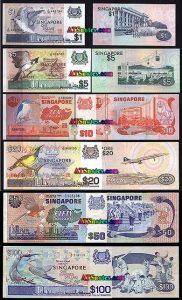 Terima Penukaran Uang Dolar Singapura Lama