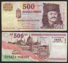 Money Changer Menerima Uang Hongaria Forint